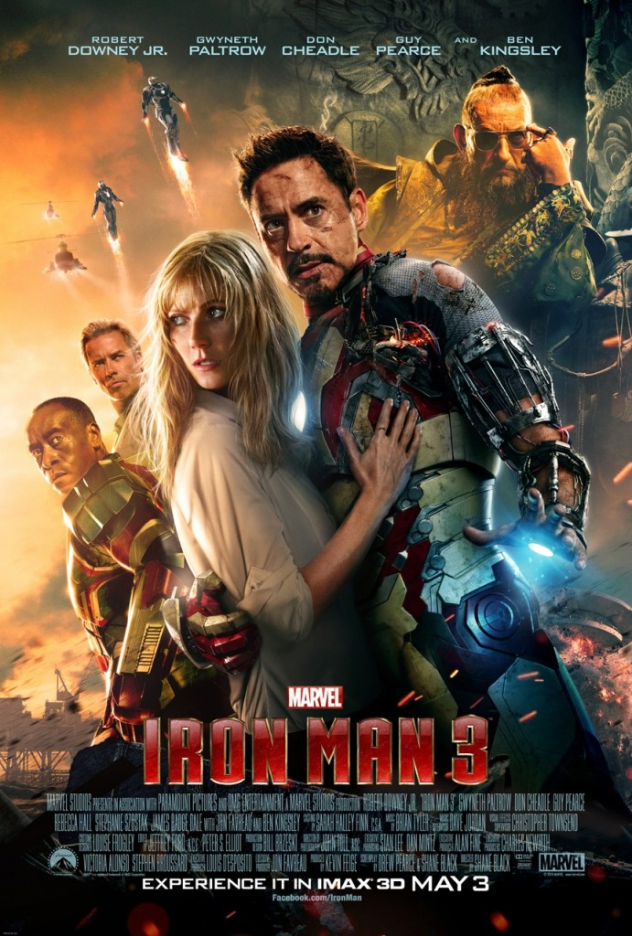 Iron Man 3 Final Theatrical One Sheet Movie Poster