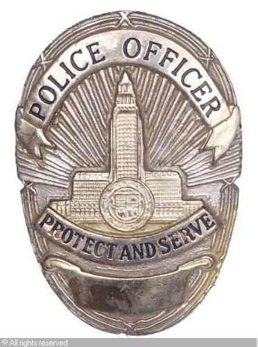 prop-police-badge