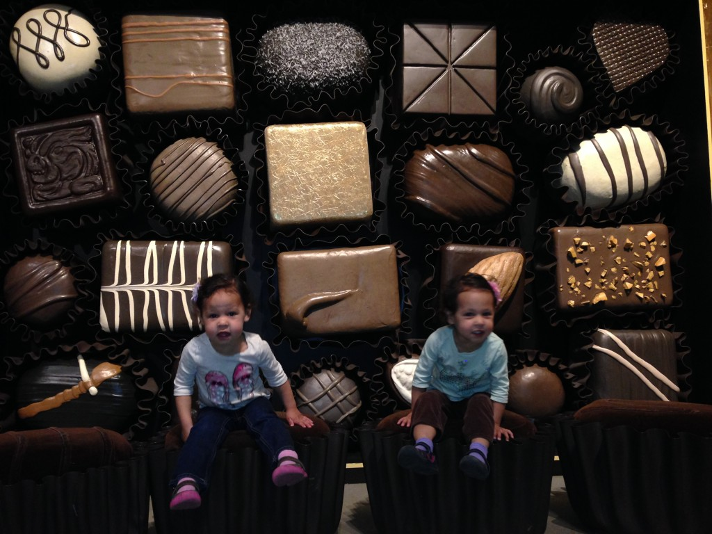 "At the ""Chocolate"" exhibition at the Museum of Natural History"