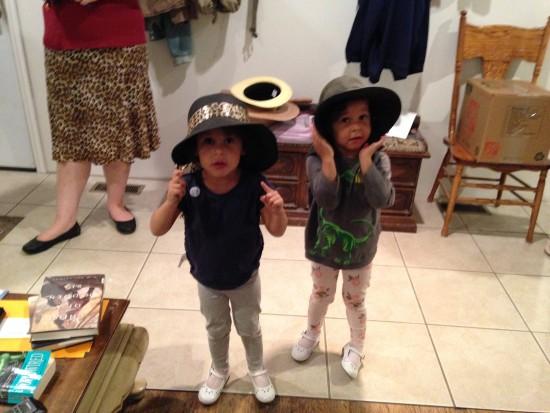 Team DiVa in Hats!