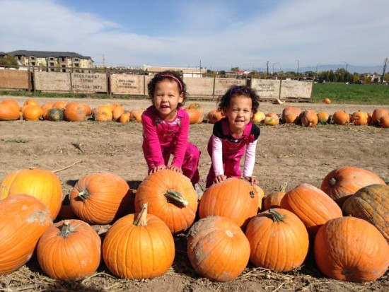 Team DiVa at the Pumpkin Patch