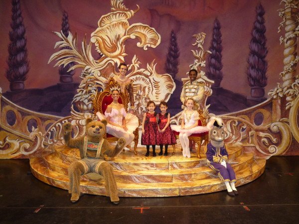 "Team DiVa with the Sugar Plum Fairy and company. (Picture courtesty of Ballet West - ""The Nutcracker"" 60th Anniversary)"