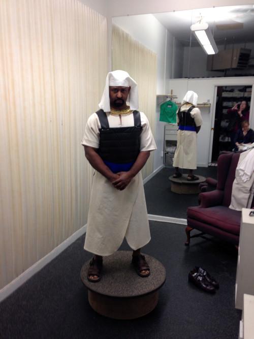 Costume fitting