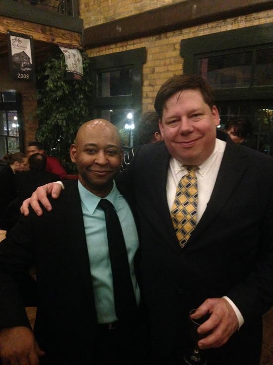 Robert, with Garnett Bruce (director)